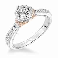 POSEY Artcarved Diamond Engagement Ring
