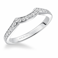 PRESLEY ArtCarved Diamond Wedding Band