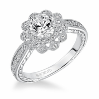 PRIMROSE ArtCarved Engagement Ring