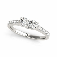 Kate - Two Stone Diamond Ring