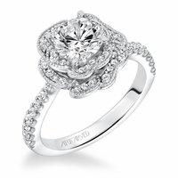 SABRINA ArtCarved Diamond Engagement Ring