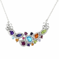Samuel B Multi-Gemstone Necklace