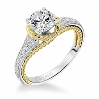 SEANA ArtCarved Engagement Ring