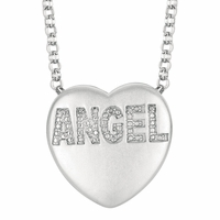 "Sweethearts Diamond ""ANGEL"" Necklace"