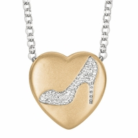 "Sweethearts Diamond ""High Heel"" Necklace"