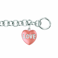 "Sweethearts Diamond ""LOVE"" Bracelet"
