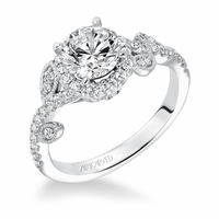 THALIA ArtCarved Diamond Engagement Ring