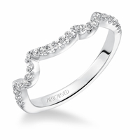 THALIA ArtCarved Matching Diamond Band