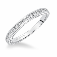 TILDA ArtCarved Diamond Band