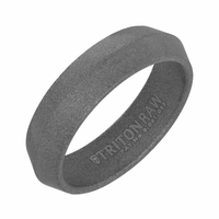 Triton RAW Tungsten Knife Edge Ring
