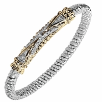 Vahan Bracelet with Diamonds, 4mm, .18ctw