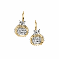 Vahan Diamond Pave Earrings