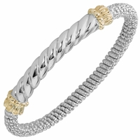 Vahan Smooth Twist Design Bracelet