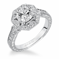 WIHELMINA ArtCarved Engagement Ring