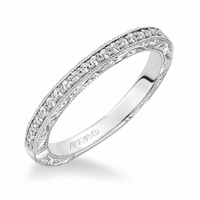 WINSLET  ArtCarved Diamond Band