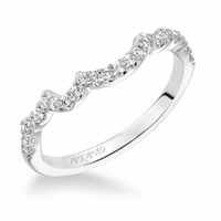 ZARA ArtCarved Diamond Wedding Band