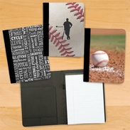 Baseball Coach And Player Notebook/Padfolio