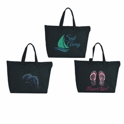 Beach And Tropical Tote Bags
