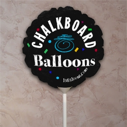Chalkboard Balloon/Chalkboard Party Balloon/Chalkboard Balloon Sign For Weddings/New Baby/Engagement/Birthday/Photo Prop/Menus/Announcement Sign