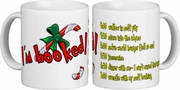 Christmas Grinch Coffee Mug Gift/Funny Grinch To Do List/Daily Planner Christmas Ceramic Coffee Mug/Grinch Quote Coffee Lover Gift