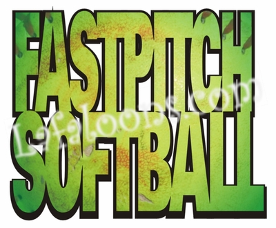 Fastpitch Softball Girl's T-Shirt