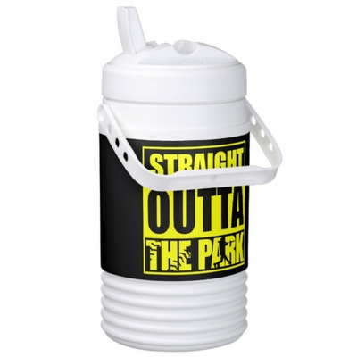 Fastpitch Softball Straight Outta The Park Igloo Half Gallon Beverage Cooler