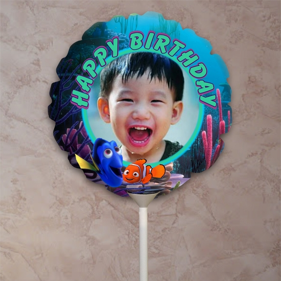 Finding Dory Birthday Party Balloon/Dory And Nemo Birthday Photo Balloon
