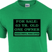 Funny Personalized For Sale Advertisement Birthday Adult T-Shirt