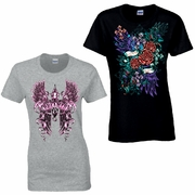 Goth, Tattoo Art And Pop Culture Shirts