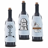 Halloween Bottle Aprons For Wine, Spirits, Craft Beer, Coffee Syrups and Cooking Oils