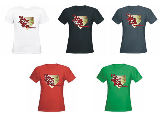 I'm All About That Base Fastpitch Softball Women's T-Shirts