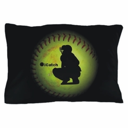 iCatch Fastpitch Softball Pillowcase