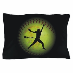 iPitch Fastpitch Softball Pillowcase