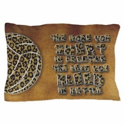 Leopard Volleyball Pillowcase