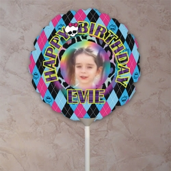 Monster High Photo Balloon/Personalized Photo Balloon For Monster High Themed Party