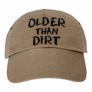 Older Than Dirt/Funny Birthday Baseball Cap, Old Age, Birthday Party/Retirement Gift/Funny Age Gag Gift
