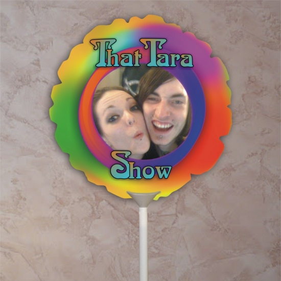 Personalized 70's Party Photo Balloon