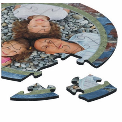Personalized A Little Birdie Told Me Valentine Jigsaw Puzzle