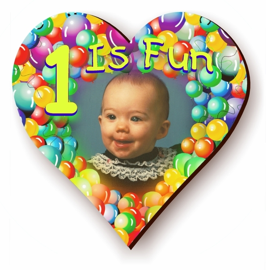 Personalized Balloon-fetti  Birthday Jigsaw Puzzle