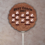 Personalized Baseball Balloon