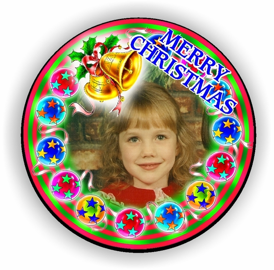 Personalized Bells And Baubles Christmas Jigsaw Puzzle