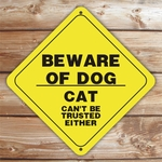 Personalized Beware Of Dog Caution Sign
