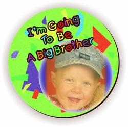 Personalized Big Brother Green Jigsaw Puzzle