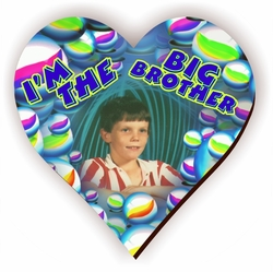 Personalized Big Brother Marbles Jigsaw Puzzle