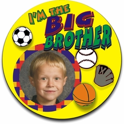 Personalized Big Brother Sports Jigsaw Puzzle