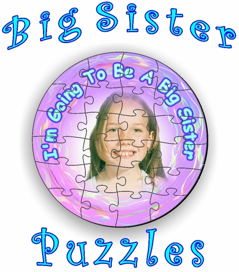 Personalized Big Sister Jigsaw Puzzles