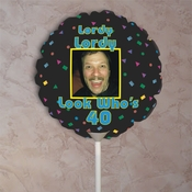 Personalized Birthday Photo Balloons
