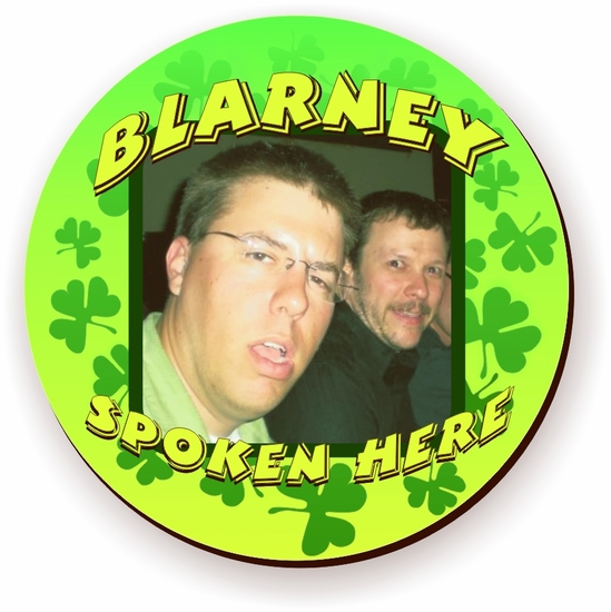 Personalized Blarney Spoken Here St. Patrick's Day Photo Jigsaw Puzzle