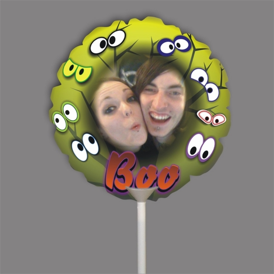 Personalized Boo Eyes Halloween Photo Balloon