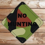 Personalized Camouflage Sign